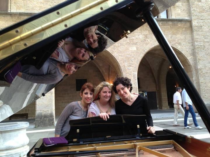 Rhodes - Mozart triple piano concerto